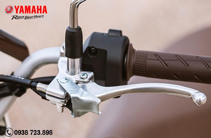 phanh khóa bánh sau Yamaha Vino 50